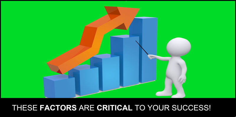 Factors that are critical to business success